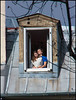_110216_Lovers_at_Dormer_Window (FrancoisRoland) Tags: paris lover dormerwindow chienassis