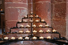 Light a Candle for Me (RoystonVasey) Tags: st canon eos islands scotland orkney cathedral zoom m 1855mm stm magnus kirkwall
