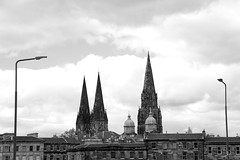 Cathedral Church of St Mary (itmpa) Tags: monochrome skyline canon scotland edinburgh mary towers spire barbara desaturated newtown townscape stmarys roofscape 6d stmaryscathedral georgegilbertscott palmerstonplace episcopalcathedral morrisonstreet johnoldridscott canon6d tomparnell itmpa cathedralchurchofstmary 187490 191317 archhist charlesmoldridscott barbaraandmary