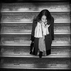 another thought (dizbin) Tags: bw blackandwhite bsquare blancoynegro candid city dizbin england em10 uk monochrome mono mzuiko olympus omd photo photograph photography people portrait square squareformat street streetphotography urban