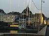 Découverte de l'Est (Antoine Desloges Studio) Tags: noel bâle suisse frontière rhin fleuve marche promenade commerces architecture bridge city