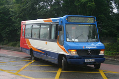 42378 - S378 DFC (Solenteer) Tags: stagecoachsoutheast eastkent 42378 s378dfc mercedesbenz vario alexander alx100 canterbury