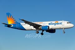 Allegiant Air Airbus A320-214 - N227NV (AeroPX) Tags: aeropx airbusa320 allegiantair caryliao ewing kttn n227nv nj newjersey ttn trentonmercercountyairport