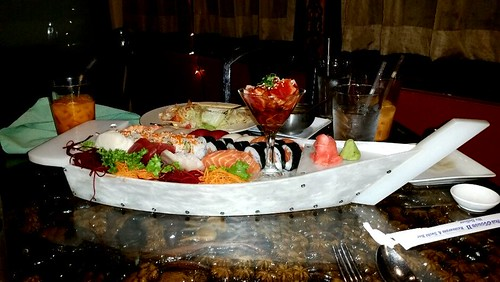 Sushi boat at Thai House II