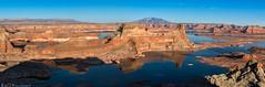 Gunsight Butte (Bill Bowman) Tags: lakepowell gunsightbutte alstrompoint navajomountain naatsis'áán coloradoriver utah gunsightbay padrebay