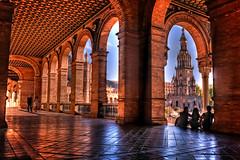 Plaza de España - Sevilla (mgarciac1965) Tags: torresur sevilla seville plazadeespaña plaza andalucía andalucia andalusia españa spain nikond5200