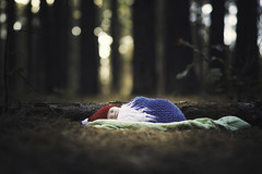 Little Gnome (Phillip Haumesser Photography) Tags: philliphaumesser baby forest gnome magic magical mystical newborn woods
