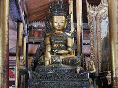 Temple Budda (Argentem) Tags: templebudda temple budda lakeinle myanmar