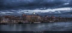 L'autre rive (Tra Te E Me (TTEM)) Tags: lumixfz1000 hdr photoshop cameraraw ville architecture fleuve urbain paysage tour