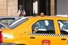 Geç kalıyorum..! (halukderinöz) Tags: insan people taksi taxi trafik traffic yellow sarı bucharest romania bükreş romanya canoneos40d eos40d hd
