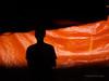 Orange (Meljoe San Diego) Tags: meljoesandiego ricoh ricohgr gr shadow light selfie street streetphotography color