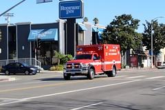 LAFD (So Cal Metro) Tags: ambulance paramedic emt ems rescue la losangeles dodge ram lafd losangelesfiredept losangelesfd losangelesfire