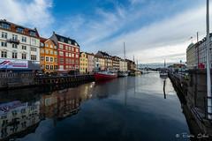 Nyhavn, Copenhague, Danemark (Eliette S) Tags: lapland vacances voyage travel nikon d610 copenhague danemark nyhavn port vieux couleur ciel bleu sky