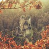 Once Upon a Time (M a r i k o) Tags: iphone iphone6s iphoneography iphonephotography mobile mobilephotography mariko square castle schloss burg medieval mittelalter märchenschloss fairytale leaves tree autumn winter eltz wierschem münstermaifeld elzbach mosel germany snapseed mextures