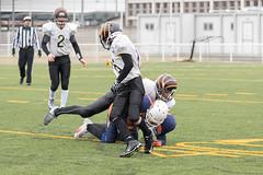 4D3A3105 (marcwalter1501) Tags: minotaure tigres strasbourg footballaméricain football sportdéquipe sport exterieur match nancy