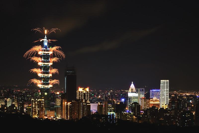Taipei 101 Fireworks 2017
