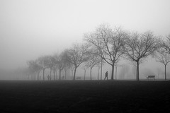 Untitled (R▲F▲VT) Tags: fog urbanvisions urban urbanlandscape human humanfactor fujifilm xpro1 silhouettes