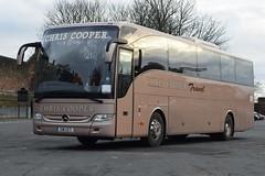 C16CCT  Chris Cooper Travel, Gateshead (highlandreiver) Tags: c16cct c16 cct chris cooper travel gateshead tyne wear mercedes benz tourismo bus coach coaches carlisle cumbria