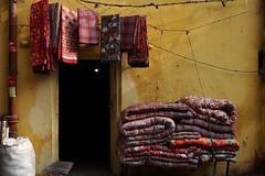 Yellow wall, Old Delhi (NovemberAlex) Tags: colour india delhi heritage