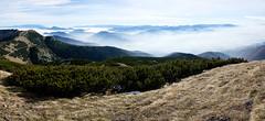 View from Velky Krivan (lemonydes) Tags: fujifilm xe2 fuji 1855 winter landscape mountains over clouds velky krivan mala fatra slovakia