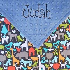 Animal Baby Blanket, Giraffe Elephant Cat Dog (SouthernSassyPants) Tags: southernsassypantsonetsy minkybabyblanket personalizedminkyblankets embroidered giftsbaby babyshowergift customtoddlerblanket