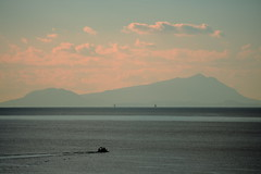Ischia un giorno d'inverno (Antimateria1926) Tags: isle italy italia ischia isola island blue sun strange light blu sole strana luce polaroyd 70 istant retro