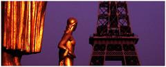 Paris - Eiffel Tower seen from Trocadéro (na_photographs) Tags: toureiffel eiffelturm landmark sightseeing tourism travel holidays