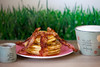 Pancakes (dive-angel (Karin)) Tags: pancake bacon maplesyrup breakfast frühstück eos5dmarkii 100mm recipe rezept