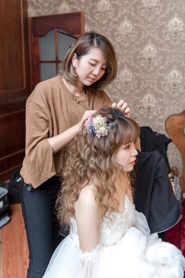 台南婚紗作品 新秘苑苑 水波紋長髮造型 004