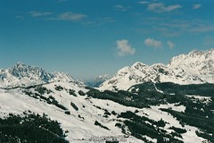 More mountains (Ed.ward) Tags: saalbach austria skiing holiday film fujifilm superia superiaxtra snow pistes trees mountains sky 2016 nikonf80 nikonafnikkor85mmf18d