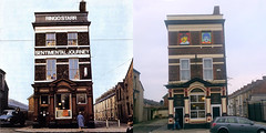 The Empress Pub, Dingle, 1970 and 2017 (Keithjones84) Tags: liverpool merseyside toxteth dingle oldliverpool rephotography history localhistory thenandnow beatles ringostarr ringo