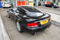 Aston Martin Vanquish S (D's Carspotting) Tags: aston martin vanquish s france coquelles calais black 20100613 3jg le mans 2010 lm10 lm2010