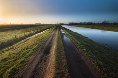 An der Hase (longlight.photo) Tags: sonnenaufgang haida nikond610 quarkenbrück landscape landschaft hase fluss river langzeitbelichtung natur naturpur graben damm