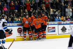 "Missouri Mavericks vs. Wichita Thunder, February 3, 2017, Silverstein Eye Centers Arena, Independence, Missouri.  Photo: John Howe / Howe Creative Photography • <a style=""font-size:0.8em;"" href=""http://www.flickr.com/photos/134016632@N02/32561330412/"" target=""_blank"">View on Flickr</a>"