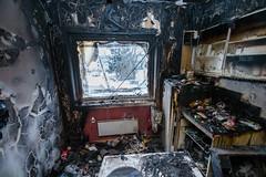 OBRE-utbrent-kjøkken-Rustad-13 (oslobrannogredning) Tags: kjøkkenbrann tørrkok bygningsbrann brann brannskader utbrent komfyr koketopp matlaging
