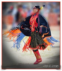 """Native Dancer"" #2 (""SnapDecisions"" photography) Tags: dancer indian nativeamerican tucson powwow arizona nikon d800 hirschfeld sanxavier brushstroke"