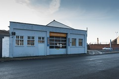 The Nelson Garage (Number Johnny 5) Tags: lines tamron d750 anglia east industrial garage buildings commercial urban great angles 2470 workshop architecture yarmouth imanoot nelson norfolk nikon