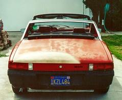 1971 vw porsche 914 17 first fun car well worn needed fresh paint long story flat 4 motor large valve angle heads