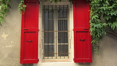Red Window (RoccerSoccerDave) Tags: france provence canon powershot sx220hs city