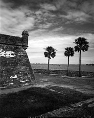 St. Augustine 4x5 - Kodak Tmax 100 (magnus.joensson) Tags: usa american visitusa florida st augustine wanderlust travelwide 90mm schneider angulon 90 kodak tmax 100 orangefilter scan epson v800 4x5 large format handheld