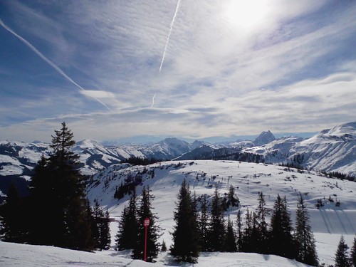 A Winterscape from Westendorf in Tyrol Austria