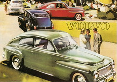 Volvo PV544 (1958-66) (andreboeni) Tags: classic car automobile cars automobiles voitures autos automobili classique voiture rétro retro auto oldtimer klassik classica publicity advert advertising advertisement illustration volvo pv 544 pv544