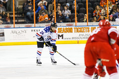 "Missouri Mavericks vs. Allen Americans, March 3, 2017, Silverstein Eye Centers Arena, Independence, Missouri.  Photo: John Howe / Howe Creative Photography • <a style=""font-size:0.8em;"" href=""http://www.flickr.com/photos/134016632@N02/33232469736/"" target=""_blank"">View on Flickr</a>"