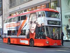 Arriva London - LT353 - LTZ1353 - Rimmel (Waterford_Man) Tags: arrivalondon hybrid nrm wrightbus lt353 ltz1353 rimmel