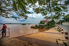 Along the Mekong (Jerome.CP.Lee) Tags: cambodia phnompenh mekong chroychangva