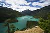 Diablo Lake (jecate) Tags: lake mountains water landscape ridge washingtonstate diablodam naturescenes northcascadesnationalpark glacierlake diablolake northcascadeshighway rosslakenationalrecreationarea
