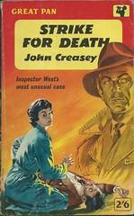 Strike for Death (Covers etc) Tags: fiction vintage design paperback crime cover 1950s pan pulp bookcover