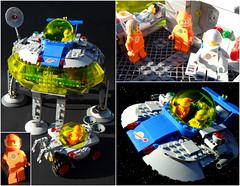 Vega-7_Space_Lander-Complete (Daniel Jassim) Tags: light orange classic dan lego space gray rover vega saucer lander jassim vega7