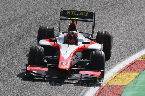 Daniël de Jong in GP2 Qualifying at the 2015 Belgium Grand Prix