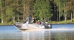 Kalaxi opasvene (Rock and Lake) Tags: finland fishingboat kyyvesi pikefishing rockandlake fishinginfinland fishinginlakeland fishingguidefinland midnightsunfishing